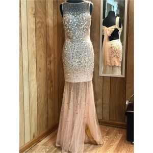 Homecoming Court Dress/ Prom Dress/ Formal Gown